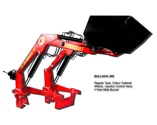 Implements Details Bulldog 285